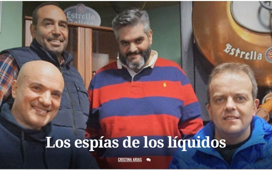Entrevista El Progreso Los espías de los liquidos